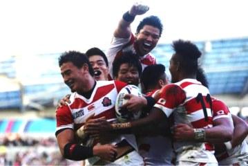 Η Ιαπωνία μεγάλωσε το ράγκμπι